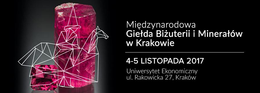 Międzynarodowa Giełda Biżuterii i Minerałów w Krakowie | 4-5 listopada