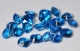 Topaz London Blue fasetowany tv 4,5x4,5mm