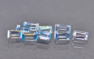 Topaz Sky blue bt 4x2 mm